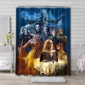 Game of Thrones Shower Curtain Waterproof Polyester
