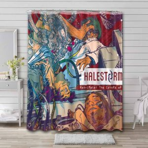 Halestorm Reanimate The Covers EP Shower Curtain Waterproof Polyester