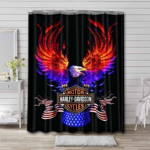 Featured Shower Curtain Bathroom Decoration Waterproof Polyester Fabric.