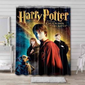 Harry Potter and the Chamber of Secrets Waterproof Shower Curtain Bathroom