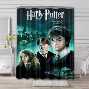 Harry Potter and the Chamber of Secrets Waterproof Bathroom Shower Curtain