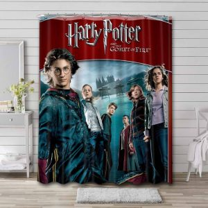 Harry Potter and the Goblet of Fire Waterproof Curtain Bathroom Shower