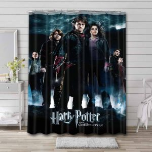 Harry Potter and the Goblet of Fire Shower Curtain Bathroom Waterproof