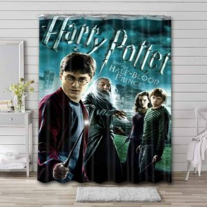 Harry Potter and the Half-Blood Prince Shower Curtain Bathroom Decoration