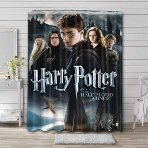 Harry Potter and the Half-Blood Prince Shower Curtain Waterproof Polyester