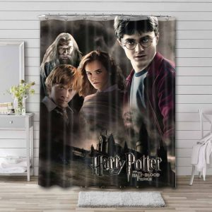 Harry Potter and the Half-Blood Prince Bathroom Shower Curtain Waterproof