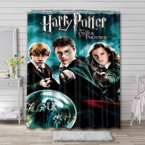 Harry Potter and the Order of the Phoenix Waterproof Shower Curtain Bathroom