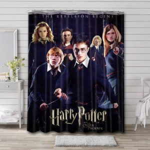 Harry Potter and the Order of the Phoenix Waterproof Bathroom Shower Curtain