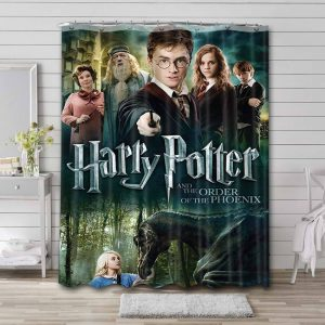Harry Potter and the Order of the Phoenix Waterproof Curtain Bathroom Shower