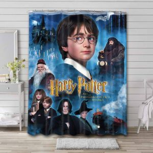 Harry Potter and the Philosopher's Stone Shower Curtain Bathroom Decoration