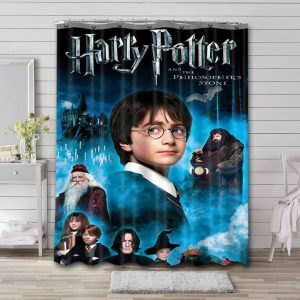 Harry Potter and the Philosopher's Stone Shower Curtain Waterproof Polyester