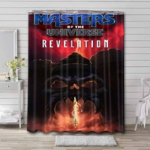 He-Man and the Masters of the Universe Bathroom Shower Curtain Waterproof