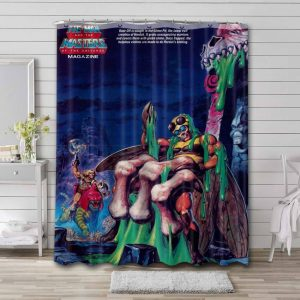 He-Man and the Masters of the Universe Waterproof Bathroom Shower Curtain