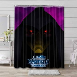 He-Man and the Masters of the Universe Comic Waterproof Curtain Bathroom Shower
