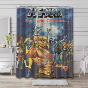 He-Man and the Masters of the Universe Shower Curtain Bathroom Decoration Waterproof Polyester Fabric.