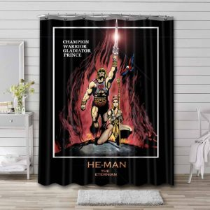 He-Man and the Masters of the Universe Shower Curtain Waterproof Polyester