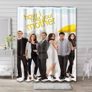 How I Met Your Mother TV Shows Shower Curtain Bathroom Decoration