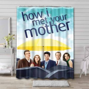 How I Met Your Mother TV Shows Shower Curtain Waterproof Polyester