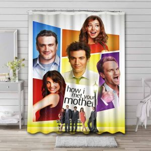 How I Met Your Mother Shower Curtain Bathroom Decoration