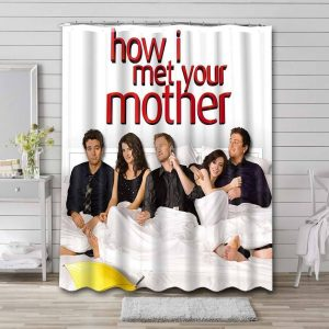 How I Met Your Mother Shower Curtain Waterproof Polyester