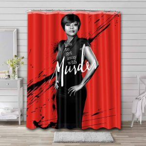 How to Get Away with Murder Shower Curtain Waterproof Polyester
