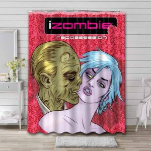 iZombie TV Shows Shower Curtain Waterproof Polyester