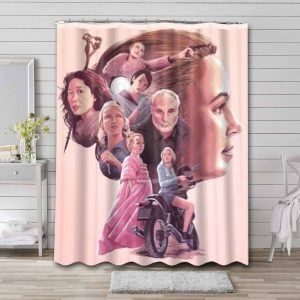 Killing Eve TV Shows Shower Curtain Waterproof Polyester