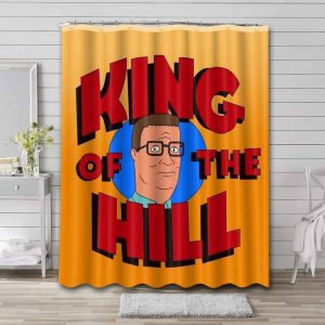 King of the Hill Shower Curtain Bathroom Decoration
