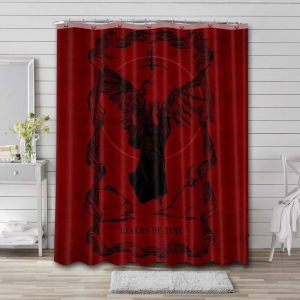 Lacuna Coil Layers Of Time Waterproof Bathroom Shower Curtain