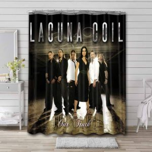 Lacuna Coil Our Thruth Bathroom Curtain Shower Waterproof