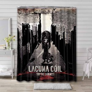 Lacuna Coil Trip The Darkness Shower Curtain Bathroom Decoration