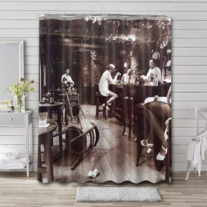 Led Zeppelin In Through the Out Door Bathroom Curtain Shower Waterproof