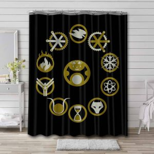 Legends of Tomorrow TV Series Shower Curtain Waterproof Polyester