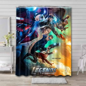 Legends of Tomorrow Shower Curtain Waterproof Polyester