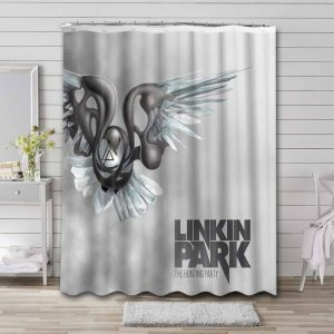 Linkin Park The Hunting Party Bathroom Curtain Shower Waterproof