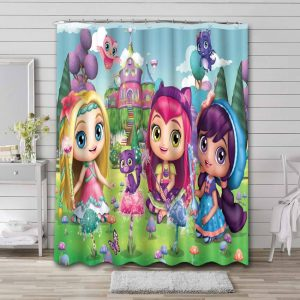 Little Charmers Shower Curtain Waterproof Polyester
