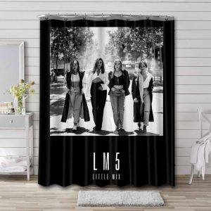 Little Mix LM5 Cover Bathroom Curtain Shower Waterproof