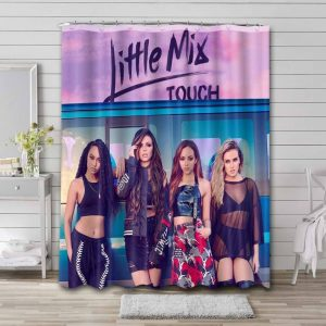 Little Mix Touch Shower Curtain Waterproof Polyester
