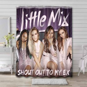 Little Mix Shout Out To My Ex Shower Curtain Bathroom Waterproof