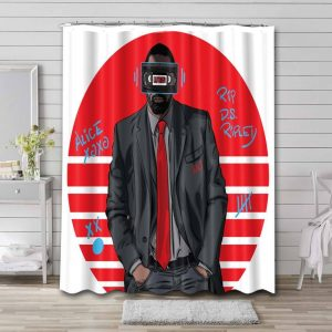 Luther Shower Curtain Bathroom Decoration
