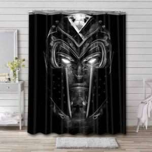 Magneto Shower Curtain Waterproof Polyester