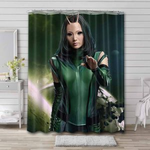 Mantis Guardian Of The Galaxy Shower Curtain Waterproof Polyester