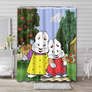 Max & Ruby Shower Curtain