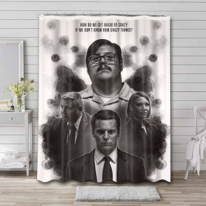 Mindhunter TV Shows Shower Curtain Waterproof Polyester