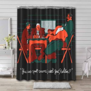 Mindhunter TV Series Shower Curtain Waterproof Polyester