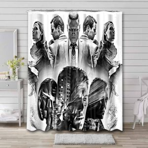 Mindhunter Shower Curtain Waterproof Polyester