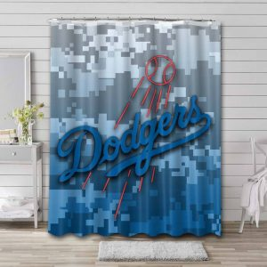 Los Angeles Dodgers Shower Curtain