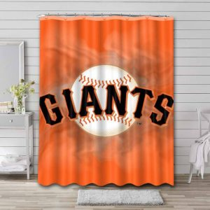 San Francisco Giants Shower Curtain Waterproof Polyester