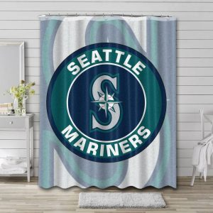 Seattle Mariners Shower Curtain