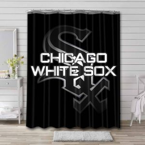 Chicago White Sox Shower Curtain Waterproof Polyester